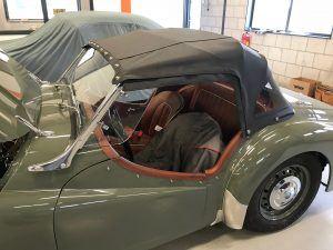 Triumph TR3 Cabrio kap