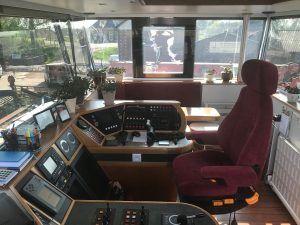 Stoffering Stuurhut Binnenvaartschip Zwolle
