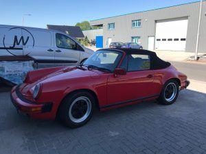 Cabrio kap reparatie Porsche 911