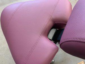 Stoffering zadel zit stoel