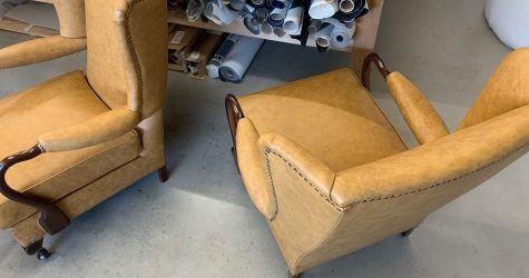 Meubelstoffeerder fauteuils