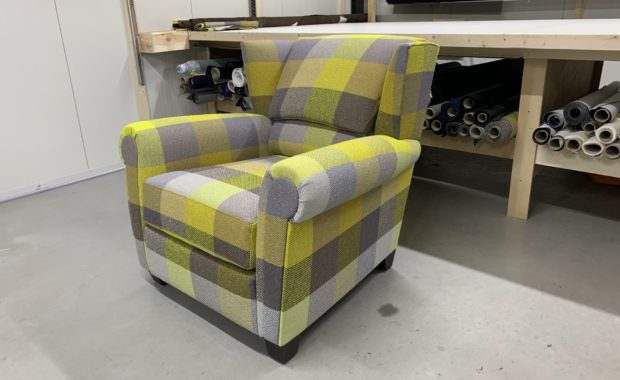 Meubelstoffering, Bench fauteuil