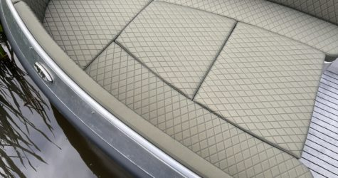 Bootkussens luxe aluminium sloep