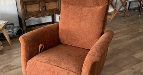 Herstoffering relax fauteuil 2
