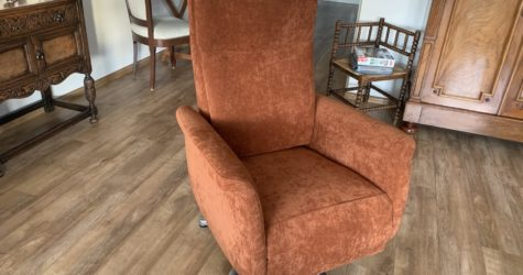 Herstoffering relax fauteuil